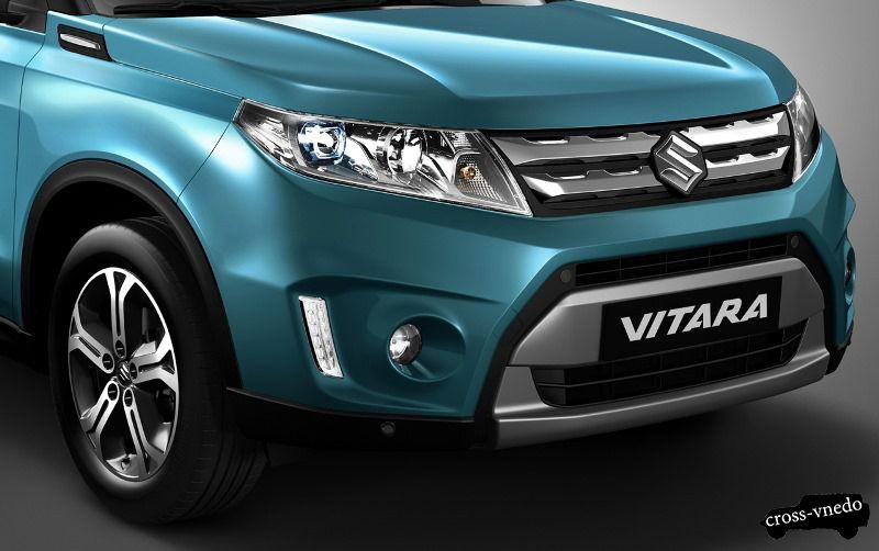 Передняя часть Suzuki Grand Vitara 2015