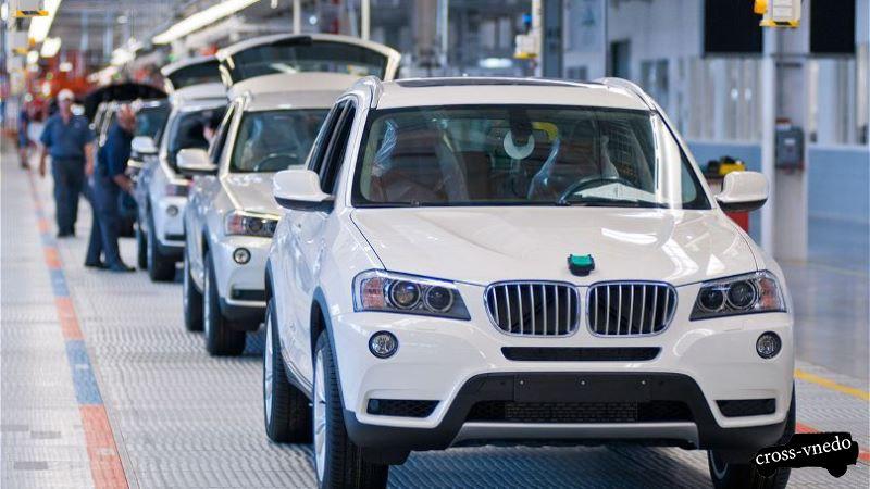 Производство BMW X7