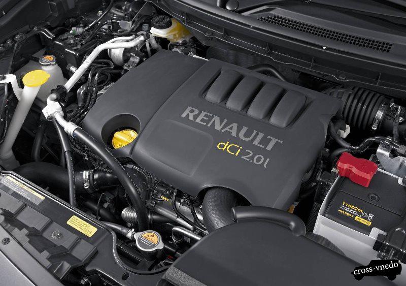 Renault Koleos 2014 двигатель автомобиля