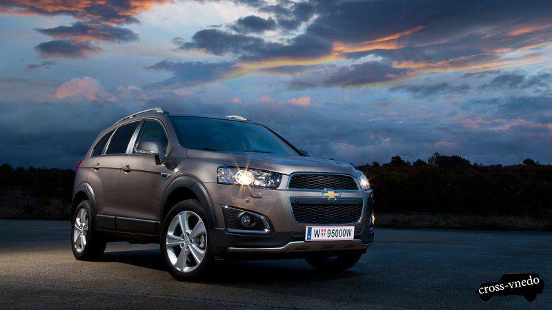 Chevrolet Captiva 2014 фото экстерьер