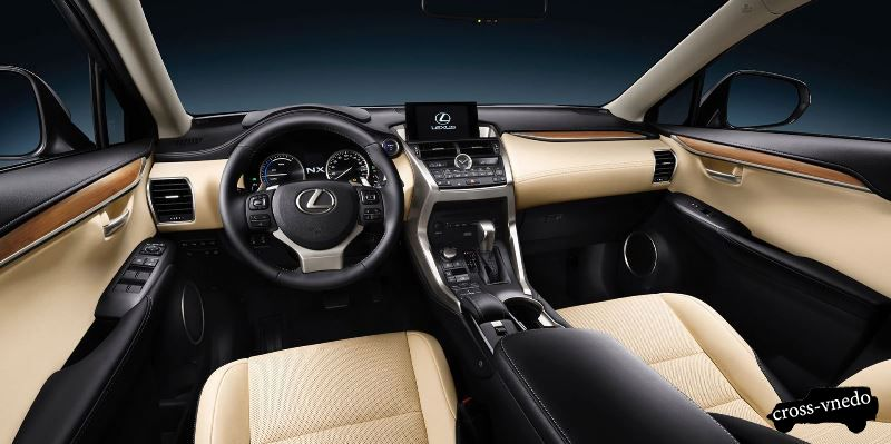 Салон новинки Lexus NX