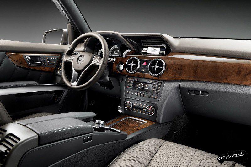 Салон нового Mercedes GLK