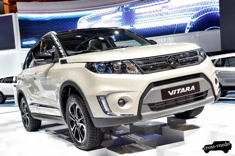 Suzuki Grand Vitara 2015 вариант покраски