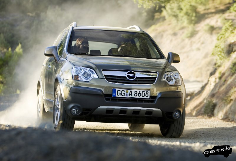 Тест драйв Opel Antara