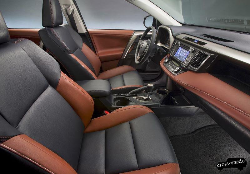 Toyota RAV4 2014 года салон