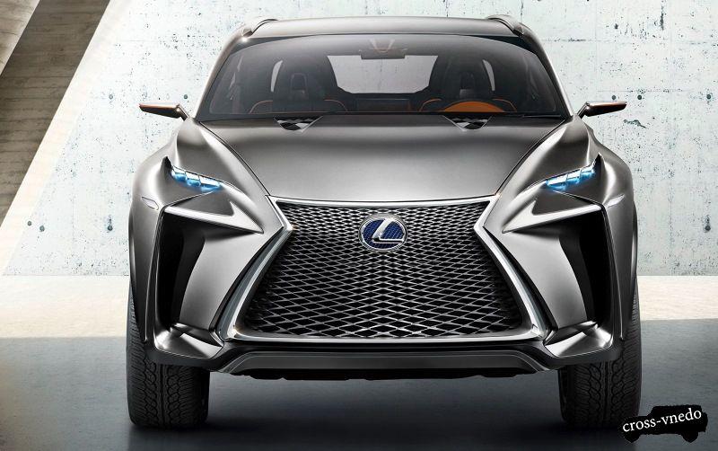 Внедорожник Lexus NX 2014 года