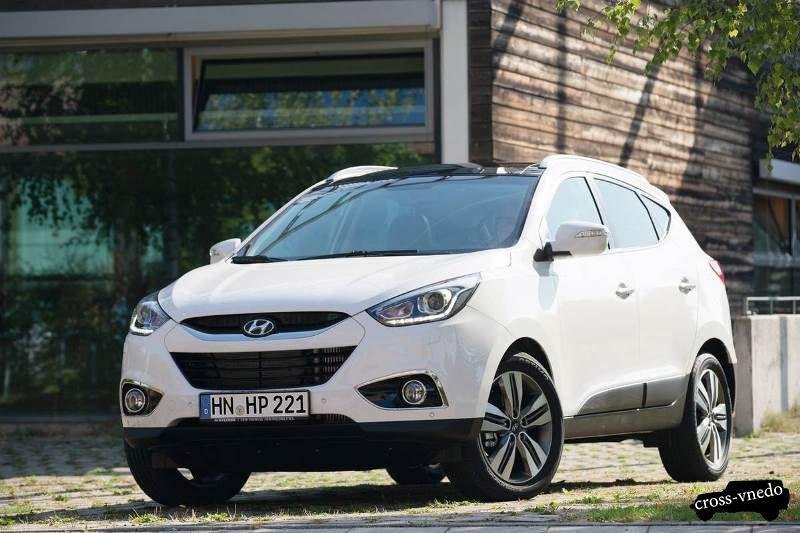 Внешний вид Hyundai ix35 2014