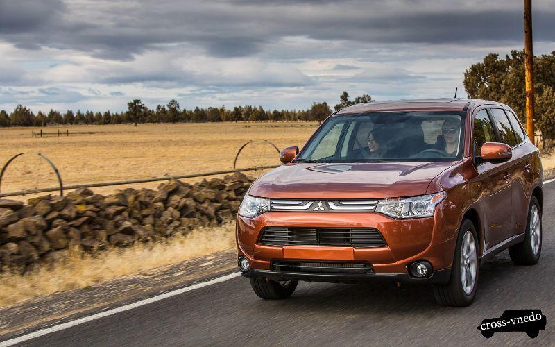 Внешний вид Mitsubishi Outlander 2014