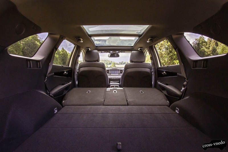 Kia Sorento 2015 багажник