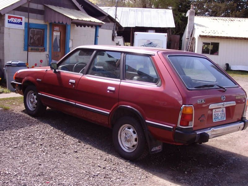 Subaru impreza 1982