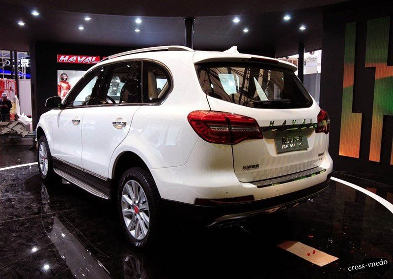 great wall haval h8 белый