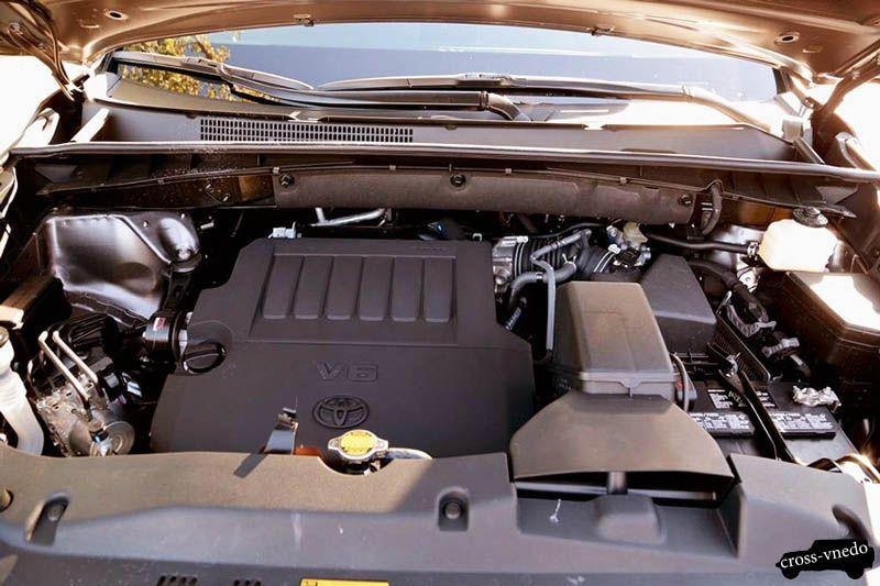 Toyota Highlander 2014 двигатель