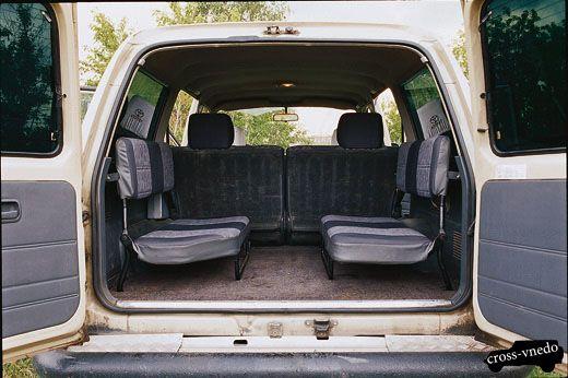 Тойота Ленд Крузер 80 багажник