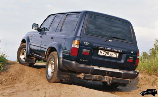 Тойота Ленд Крузер 80 фото