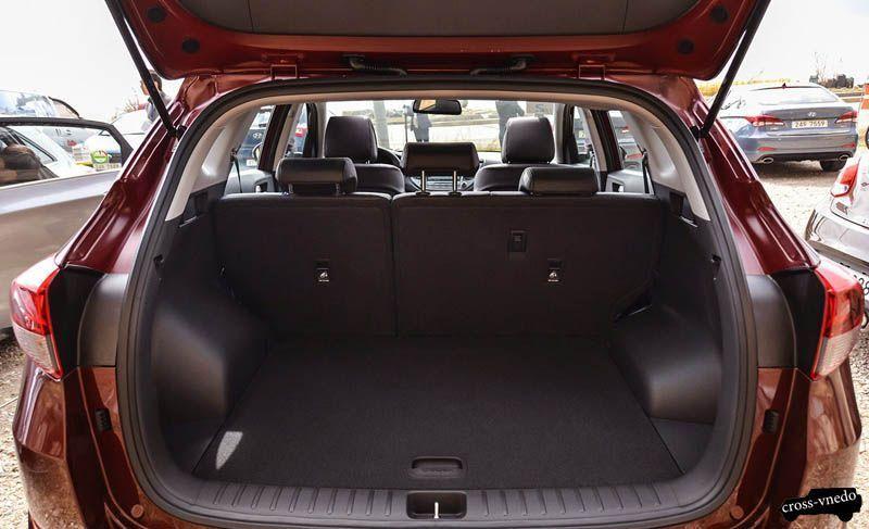 Hyundai Tucson 2016 багажник