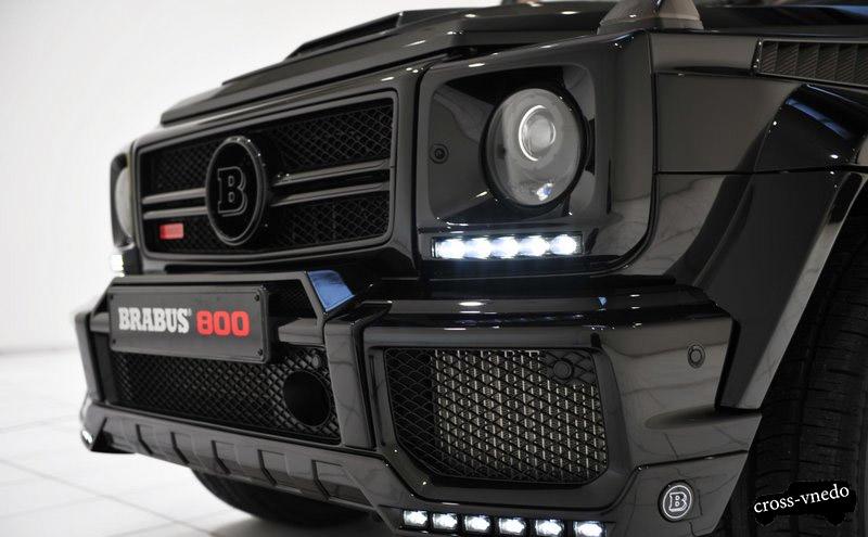 Джип Brabus 800 Widestar