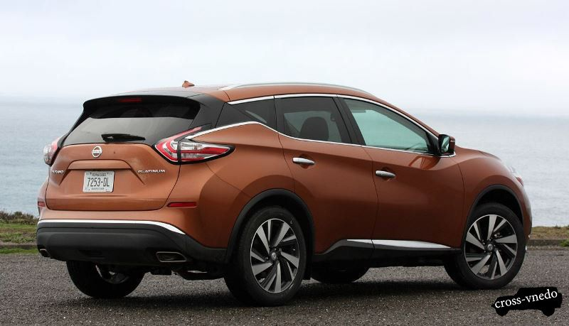 Фото нового Nissan Murano 2015