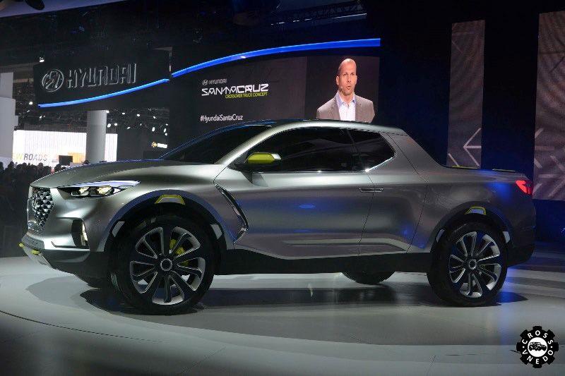 Hyundai Santa Cruz концепт пикапа в 2015 году