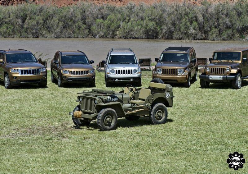 Историческое фото внедорожников - jeep grand cherokee willys ma