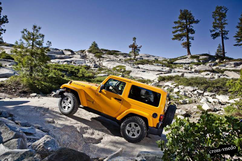 Jeep Wrangler Rubicon 2013 года