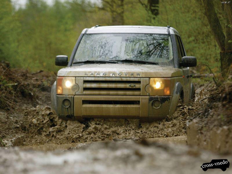 Land Rover по внедорожью