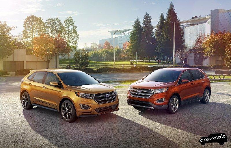 Новинки 2015 года Ford Edge Titanium и Sport