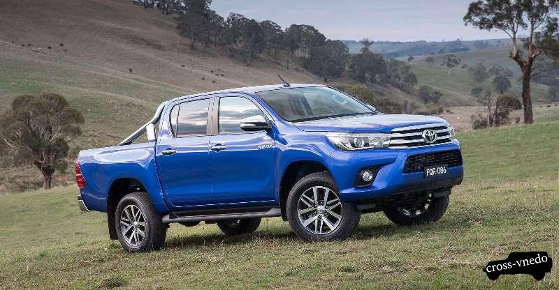 Новый автомобиль Toyota Hilux