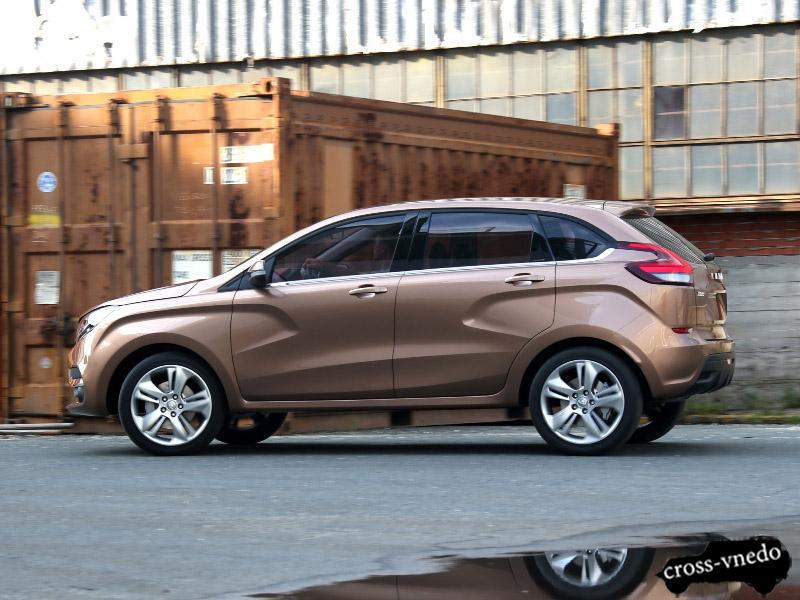 Новый российский автомобиль Лада Х Рэй