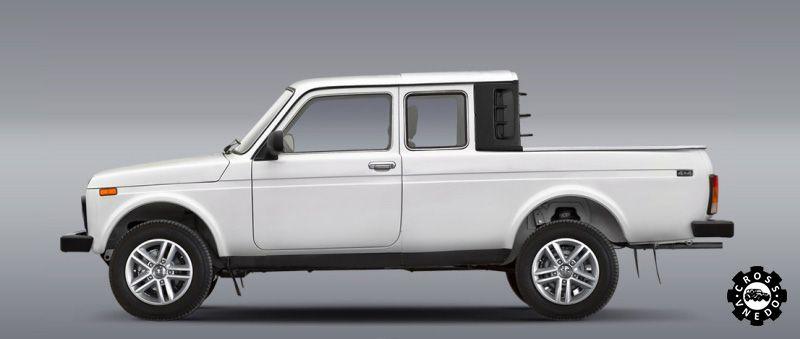 Обновленная LADA 4x4 Pickup