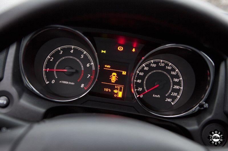 Панель приборов Peugeot 4008 фото