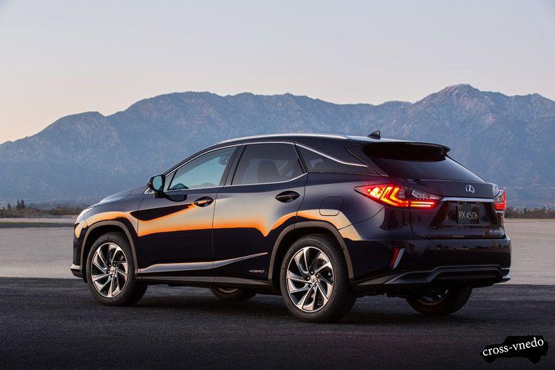 Последняя модель Lexus RX