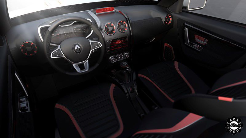 Renault Oroch 2015-2016 салон