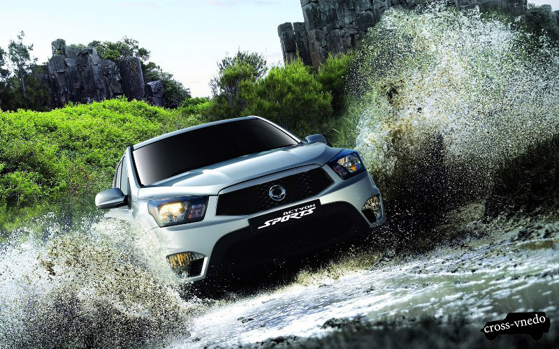 SsangYong Actyon фото