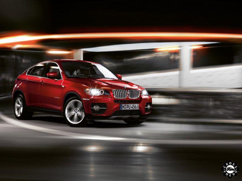 Внешний вид внедорожника BMW Х6