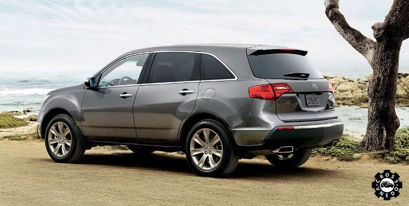 Acura MDX 2013 года экстерьер