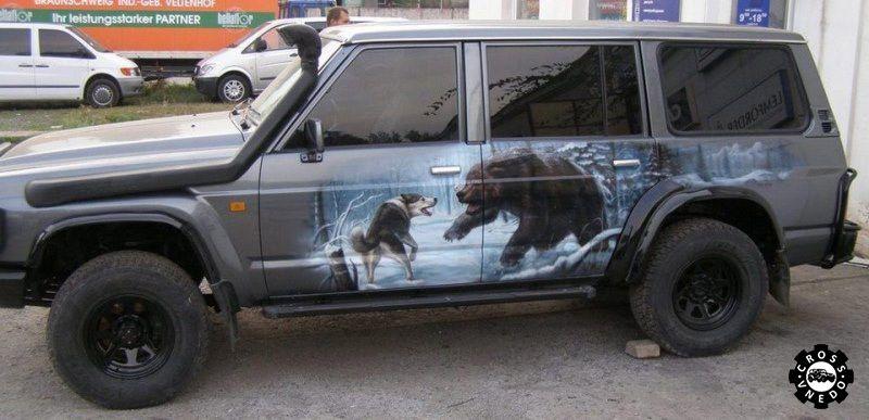 Автомобиль охота