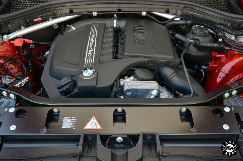 БМВ Х4 двигатель авто