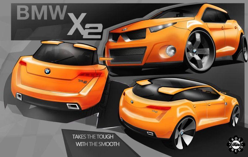 BMW X2 графика