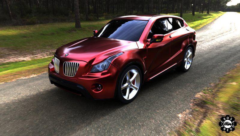 BMW X2 концепт авто
