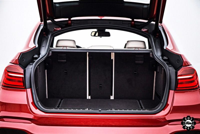 Багажник BMW X4 2014 года