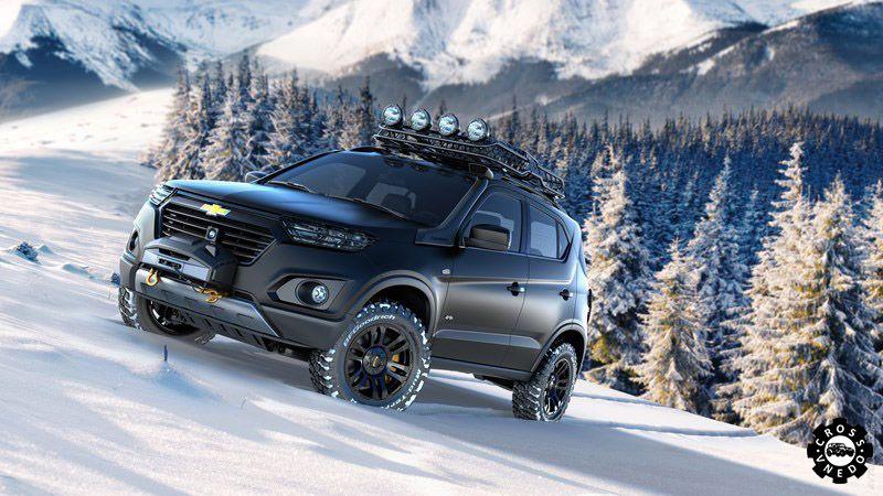 Chevrolet Niva концепт 2015 года