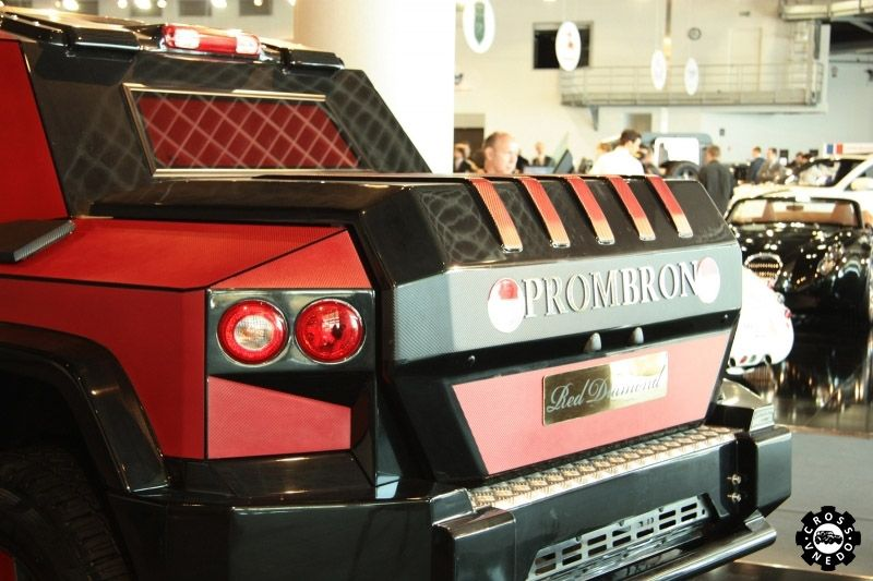 Dartz Prombron Monaco Red Diamond Edition фото