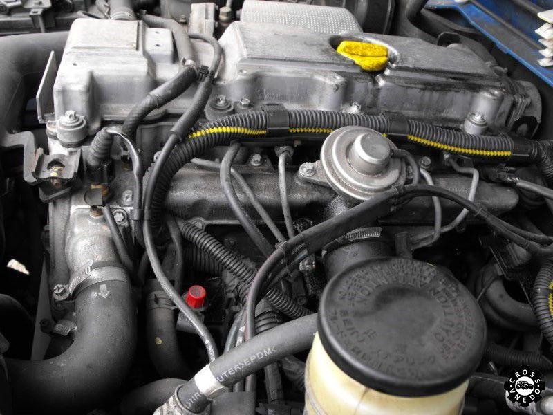 Двигатель автомобиля Opel Frontera