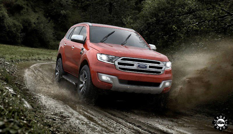 Ford Everest 2016 фото