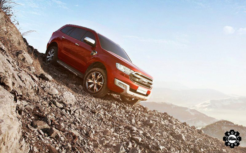 Ford Everest 2016 в горах фото