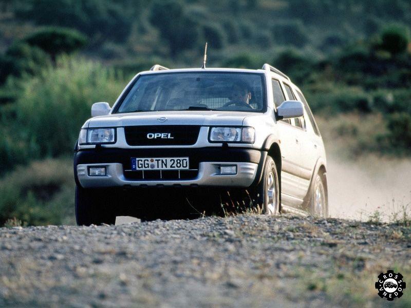 Фото в движении Opel Frontera