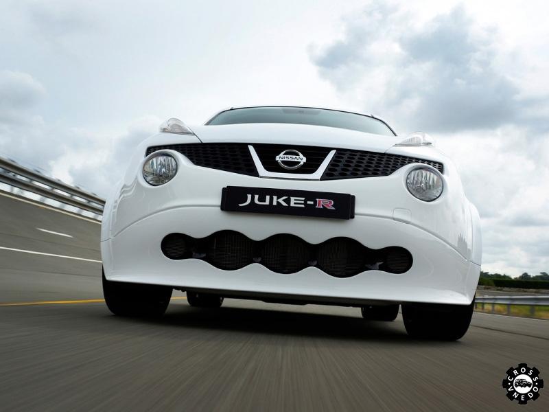 Juke R фото необычного автомобиля