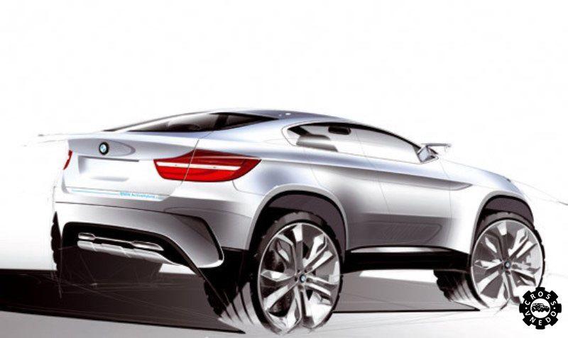 Как может выглядеть BMW X2