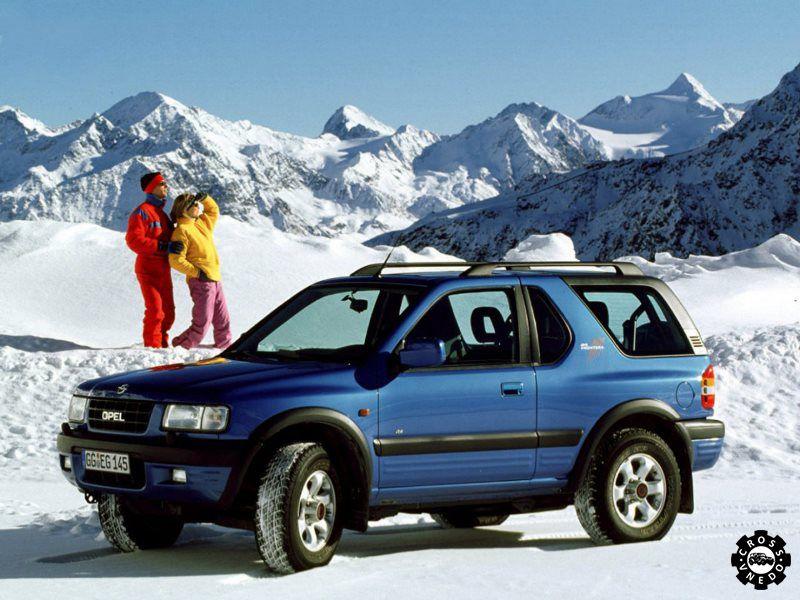 Кроссовер Opel Frontera фото