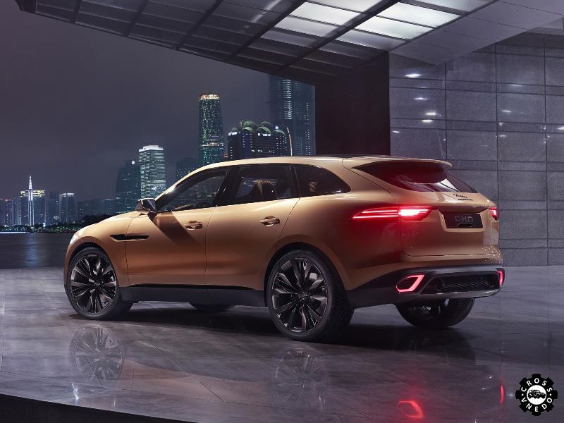 Необычный внедорожник Jaguar